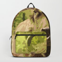 Bull #decor #buyart #society6 Backpack