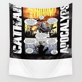 Cathair Apocalypse 01-05 Wall Tapestry
