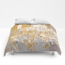 Shabby Glam Chandelier Comforters