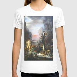 The Lernaean Hydra by Gustave Moreau (1876) T-shirt