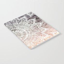 BOHEMIAN HYGGE MANDALA Notebook