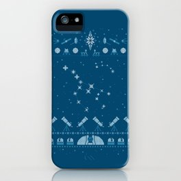 Ugly Astronomy Sweater iPhone Case