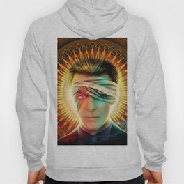 Bowie comic book Tribute cover Hoody
