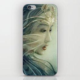 Lionfish mermaid iPhone Skin