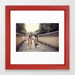 Maiko Framed Art Print