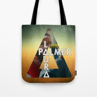laura palmer Tote Bags featuring Bastille - Laura Palmer by Thafrayer