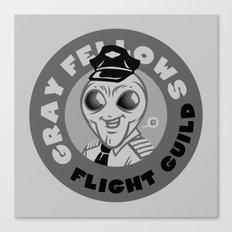 Gray Fellows Flight Guild Canvas Print