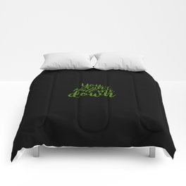 "'Wicked' Quote: ""You Can't Pull Me Down"" Comforters"