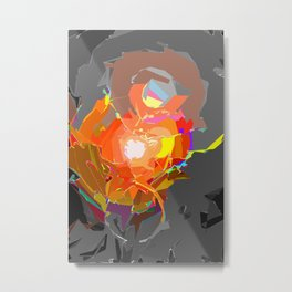 Colour Assault Metal Print