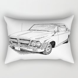 64 Chrysler 300 Rectangular Pillow