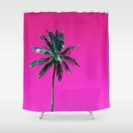 Palm Tree PR Shower Curtain