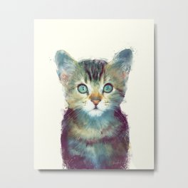 Cat // Aware Metal Print