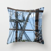 pirates Throw Pillows featuring Pirates! by NL Designs