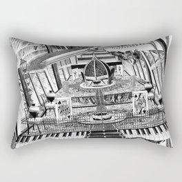 A VECES CUALQUIER COSA ES CUALQUIER COSA Rectangular Pillow