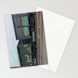 on rails Stationery Cards