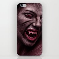 the vampire diaries iPhone & iPod Skins featuring vampire by Photoplace