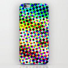 Halftone Color Chart iPhone & iPod Skin
