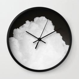 Black Clouds III Wall Clock