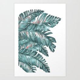 tropical blue Kunstdrucke