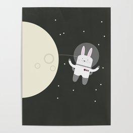 Astro Bunnies Poster