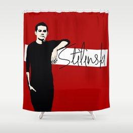 Team Human: Stilinski  Shower Curtain