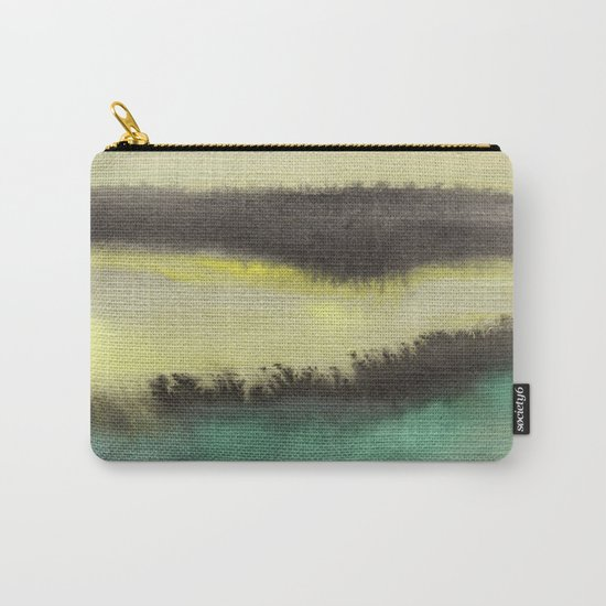 Watercolor abstract landscape 02 Carry-All Pouch