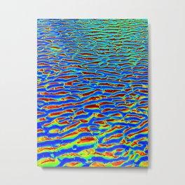 Psychadelic Sand Metal Print
