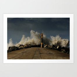 Dark Swell Art Print