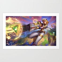 Arcade Caitlyn Prestige Edition Art Print