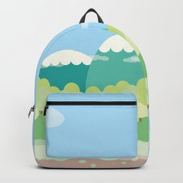 Mountains In The Sky Backpack