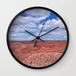 Nature Painted Desert Wall Clock