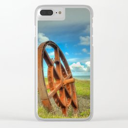 Nant Gwrtheyrn Clear iPhone Case