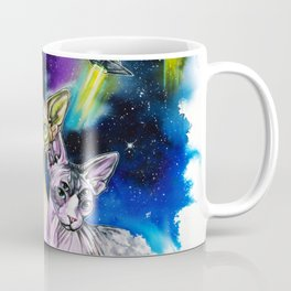 Alien Sphynx bros Coffee Mug
