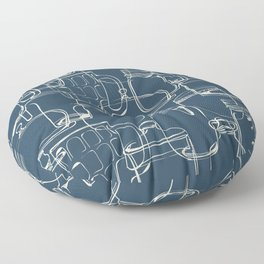 glass containers Floor Pillow
