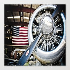 Aviation in the USA Canvas Print