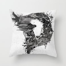 [ D ]ISASTER Throw Pillow