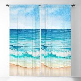 Sea Scenery #1 Blackout Curtain