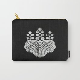 Toyotomi Clan · White Mon · Distressed Carry-All Pouch