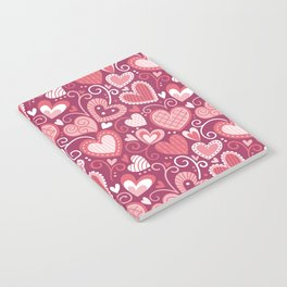 Lovely hearts Notebook