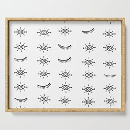 Eyes All Over Serving Tray