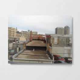 building hopping, saskatoon, saskatchewan, canada Metal Print