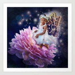 Jassy Fairy Art Print