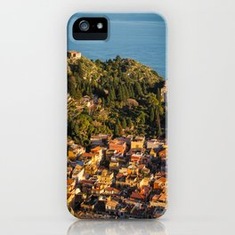 Taromina iPhone Case