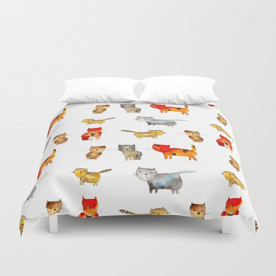 Kitties Duvet Cover