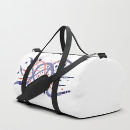 Jackworms of Underground Music Duffle Bag