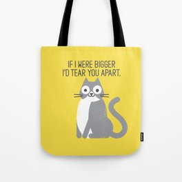 Purrfectly Honest Tote Bag