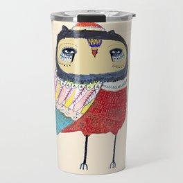 Sweet Owl. owl, owl art, owl print, owls Travel Mug