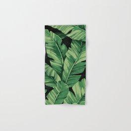 Tropical banana leaves II Hand & Bath Towel