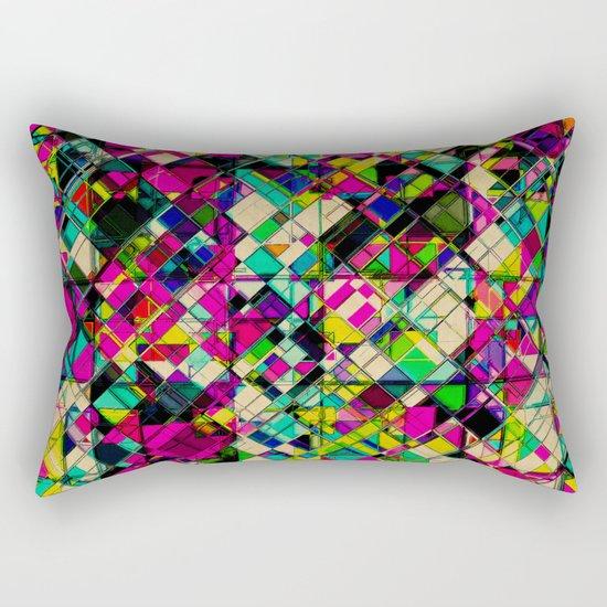 Crystal Cohesion Rectangular Pillow