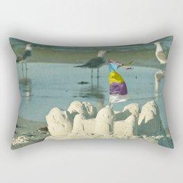 It's better at the beach #2 Rectangular Pillow